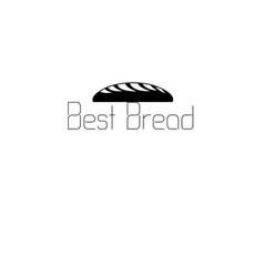 icon labeled bread vector image