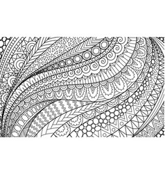 line art abstract movement for background adult vector image