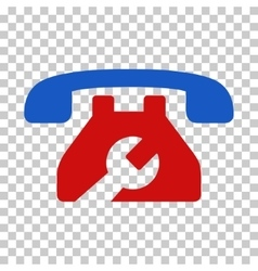 Repair Service Phone Icon vector