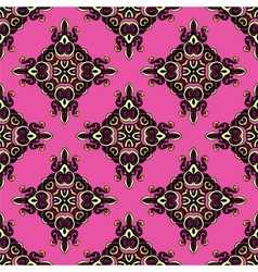 Seamless Pattern damask rhombs vector