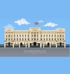 england buckingham palace vector image