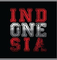 Indonesia vector
