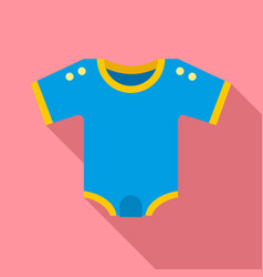 kid clothes icon flat style vector image