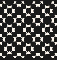 universal seamless pattern simple black white vector image
