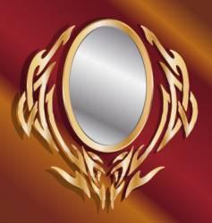 magic mirror vector image vector image