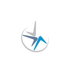 Boomerang logo vector