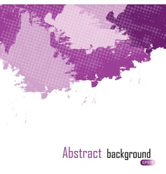 purple abstract paint splashes background w vector image vector image