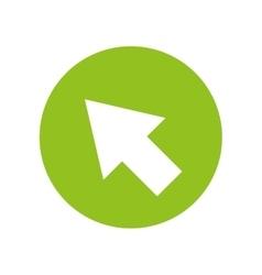 arrow pointer cursor icon vector image