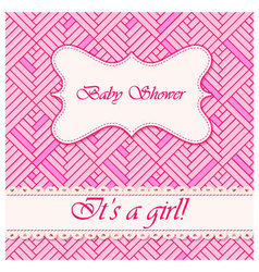 Baby-shower-abstract-background-girl-2 vector
