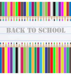 back to school chalkboard vector image