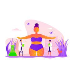 body contouring concept vector image