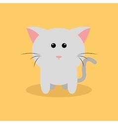Cute Cartoon cat vector image