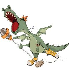 Dragon the actor vector image