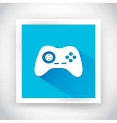Icon of joystick for web and mobile applications vector