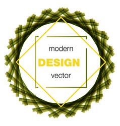 Modern icon design logo element with business vector