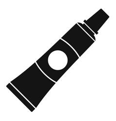 Repair wheel bike glue icon simple style vector