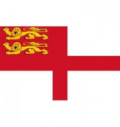 sark flag vector image