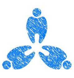 stomatology grunge icon vector image