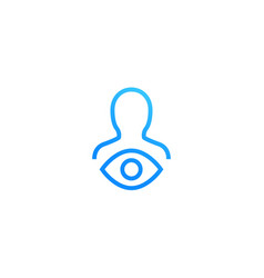 Viewer icon vector
