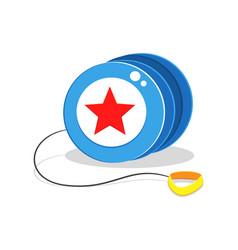 yo yo toy cartoon vector image