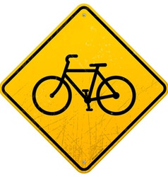 Bike Sign vector image