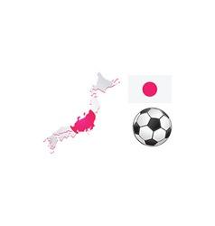 Soccer design elements vector image
