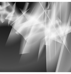 Abstract light gray background vector image vector image