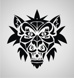 Demon Tribal vector image