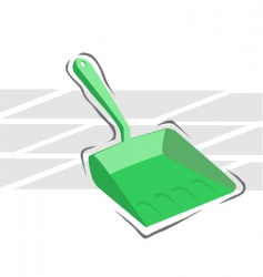Dust tray vector