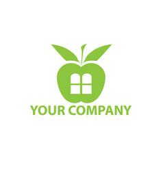 fruit shop logo vector image