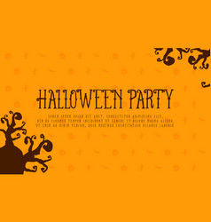 Happy halloween design background collection vector