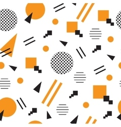 Minimalist pattern with geometric shapes Modern vector image