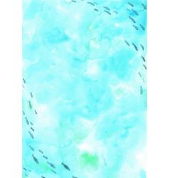 school fish swimming in sea watercolor vector image