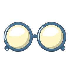 Spectacles icon cartoon style vector