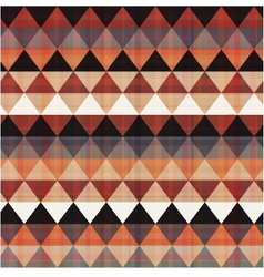 seamless ethnic geometric pattern vector image vector image