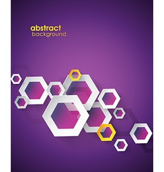 Abstract purple background with place for your vector image