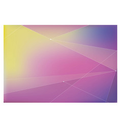 background with purple and pink and yellow vector image