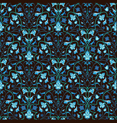 baroque seamless pattern vector image
