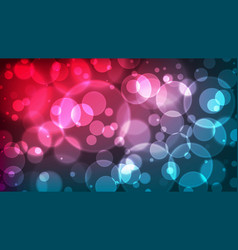 abstract bokeh background multicolor defocused vector image