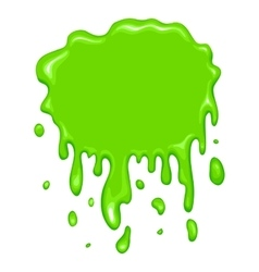 Best green slime icon vector