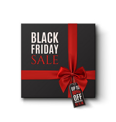 Black Friday Sale conceptual background vector