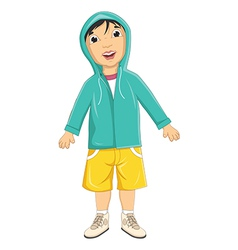 Boy Wear Jacket vector image