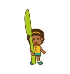 Kids food nutrition design vector