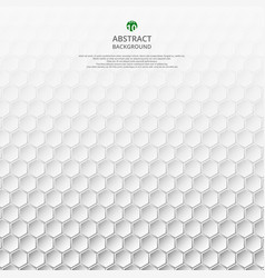 modern gray and white geometric pattern background vector image