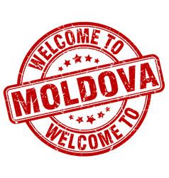 Welcome to moldova vector