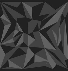 Abstract polygonal decoration background vector