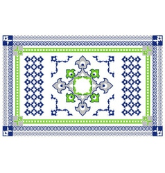 Arabic Style Carpet Design vector