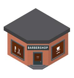 barbershop icon isometric style vector image
