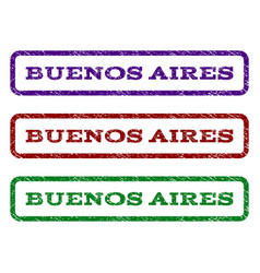 Buenos aires watermark stamp vector