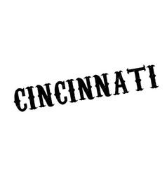 Cincinnati rubber stamp vector